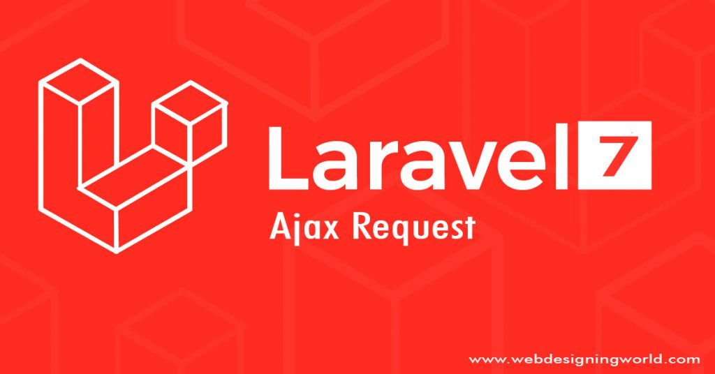 laravel 7 ajax request