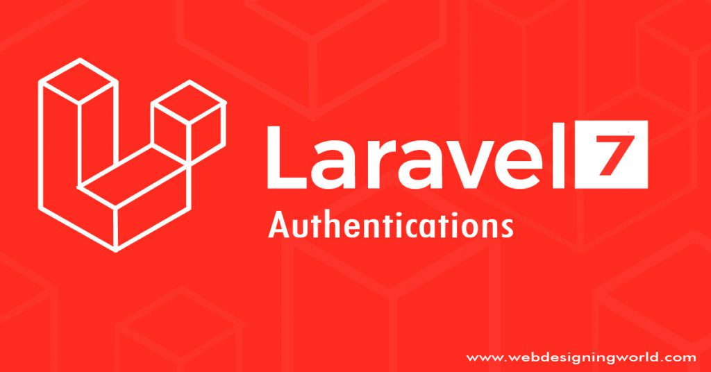 Authentication in Laravel 7