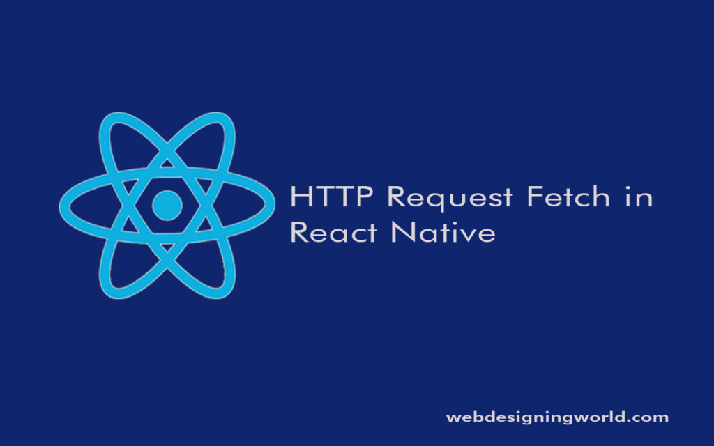 HTTP Request Fetch in React Native