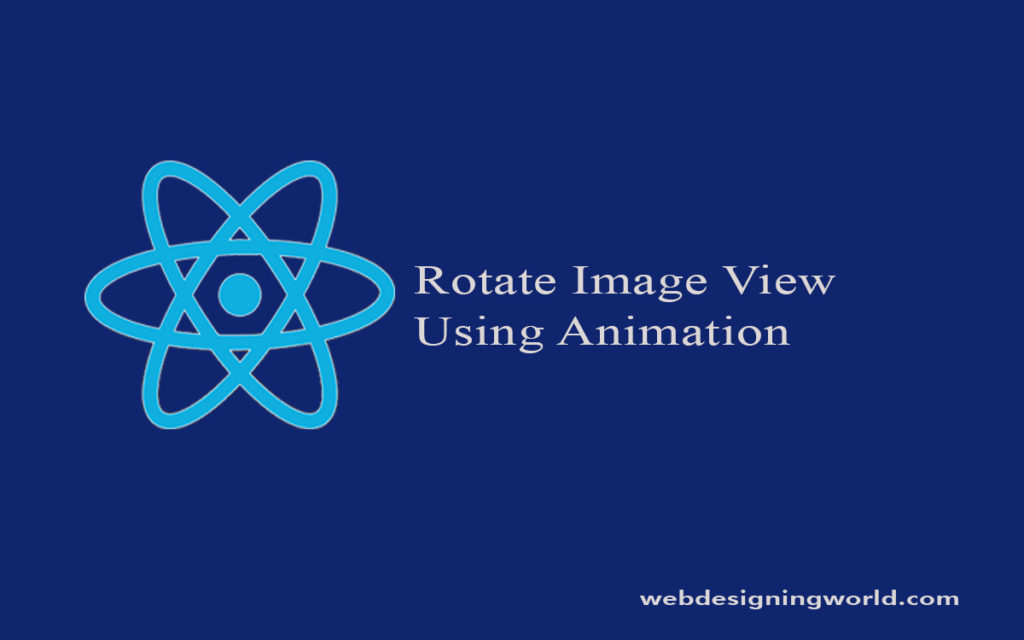 Rotate Image View Using Animation