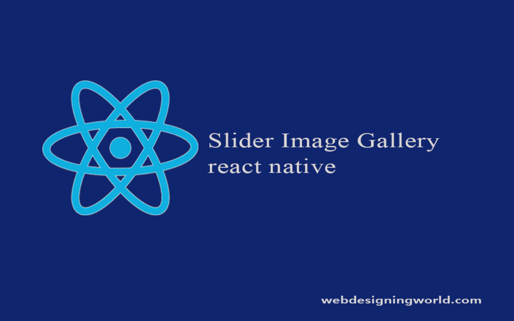 Slider Image Gallery react native
